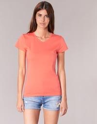 textil Mujer camisetas manga corta BOTD EFLOMU Naranja