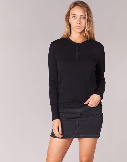 textil Mujer Camisetas manga larga BOTD EBISCOL Negro