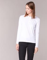 textil Mujer Camisetas manga larga BOTD EBISCOL Blanco
