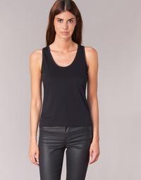 textil Mujer camisetas sin mangas BOTD EDEBALA Negro