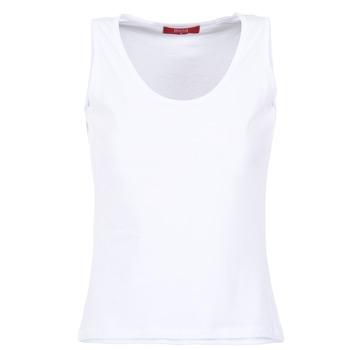 textil Mujer camisetas sin mangas BOTD EDEBALA Blanco