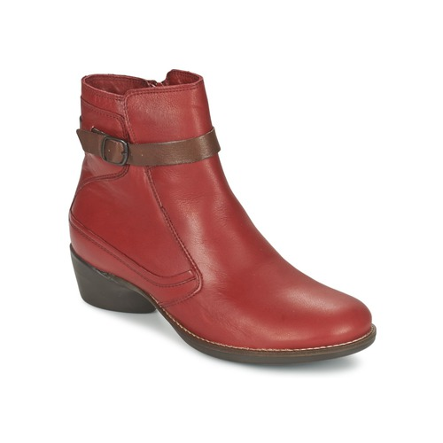 Zapatos Mujer Botines TBS GENTLY Granate