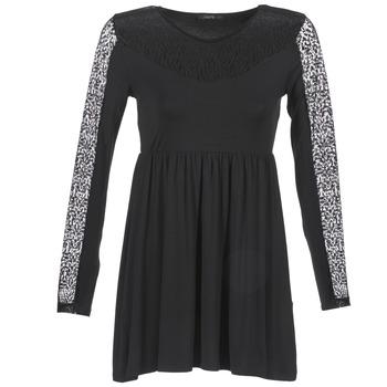 textil Mujer vestidos cortos School Rag ROSELYN Negro