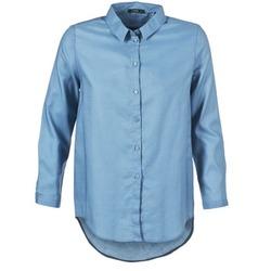 textil Mujer camisas School Rag CHELSY Azul