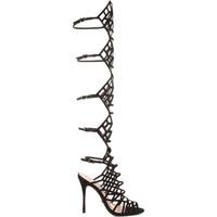 Zapatos Mujer Sandalias Schutz Sandálias Gladiadoras Juliana Black