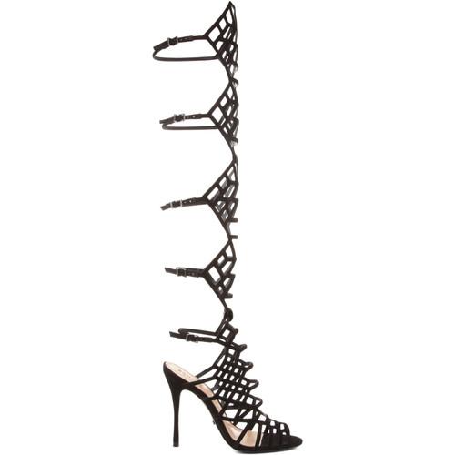 Zapatos Mujer Sandalias Schutz Sandálias Gladiadoras Juliana Black Negro