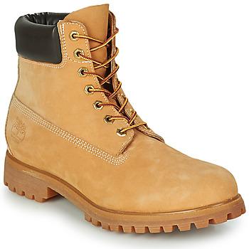 Zapatos Hombre Botas de caña baja Timberland PREMIUM BOOT 6'' Cognac