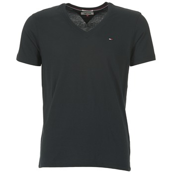 textil Hombre camisetas manga corta Tommy Jeans MALATO Negro