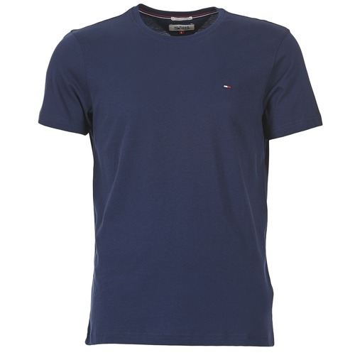 textil Hombre camisetas manga corta Tommy Jeans OFLEKI Marino