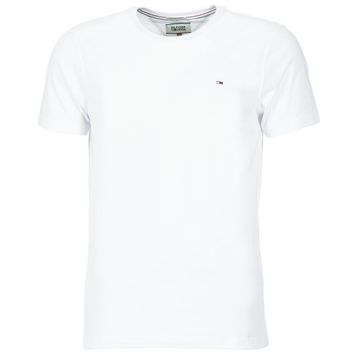 textil Hombre Camisetas manga corta Tommy Jeans OFLEKI Blanco