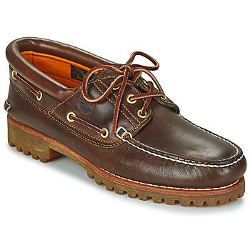 Zapatos Hombre Zapatos náuticos Timberland 3 EYE CLASSIC LUG Marrón