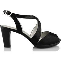Zapatos Mujer Zapatos de tacón Montesinos CAVIAR NEGRO