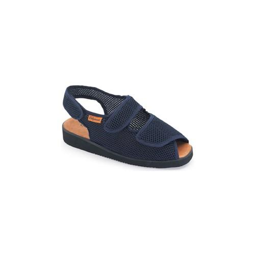 Zapatos Mujer Sandalias Calzamedi DOMESTICO DE TELA AZUL