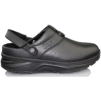 Zapatos Mujer Zuecos (Clogs) Joya IQ SR ZUECO BLACK