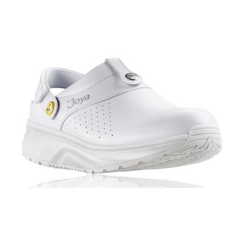 Zapatos Mujer Zuecos (Clogs) Joya IQ SD WHITE