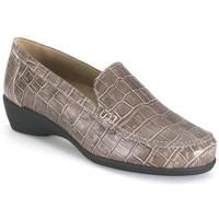 Zapatos Mujer Mocasín Calzamedi TAUPE MOCASIN MARRON