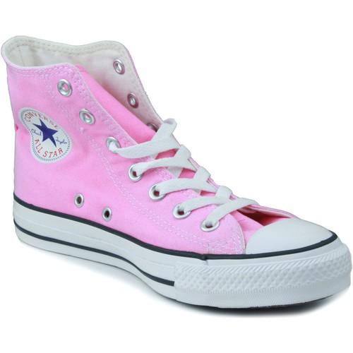 Zapatos Niños Zapatillas altas Converse ALL STAR ROSA