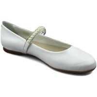 Zapatos Niña Bailarinas-manoletinas Oca Loca OCA LOCA PERLAS BLANCO
