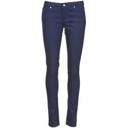 textil Mujer pantalones con 5 bolsillos Element STICKER Azul