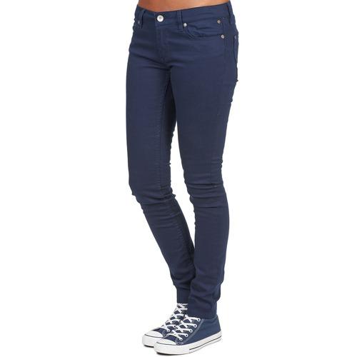 Con Pantalones Textil 5 Sticker Bolsillos Element Azul Mujer sChQrxtd