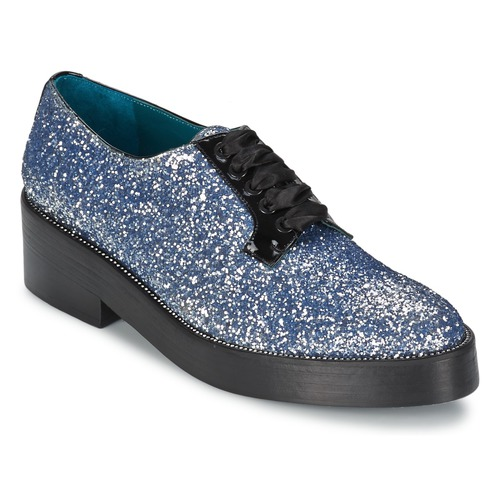 Zapatos Mujer Derbie Sonia Rykiel 676318 Azul / Plateado