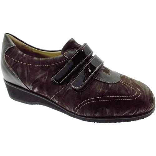 Zapatos Mujer Zapatillas bajas Calzaturificio Loren LOL8050m marrone