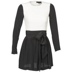 textil Mujer vestidos cortos American Retro STANLEY Negro / Blanco