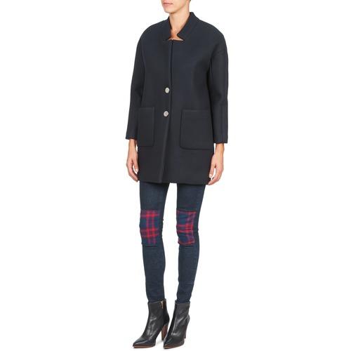 Abrigos Retro Textil American Mujer Laura Marino Rj5AL4