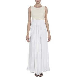 textil Mujer Vestidos largos Kocca Vestido Bosae Blanco