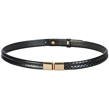 Accesorios textil Mujer Cinturones Hugo Boss Black ADALINE Negro