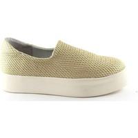 Zapatos Mujer Slip on Frau FRA-37Y0-OR Beige