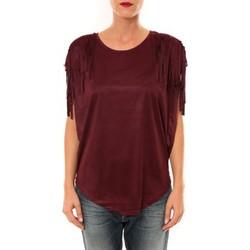 textil Mujer Tops / Blusas Nina Rocca Top C1844 bordeaux Rojo