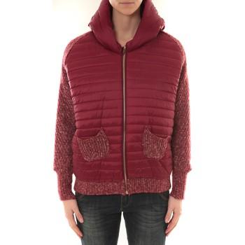 textil Mujer cazadoras Sweet Company Doudoune 1889 Bi matiére Bordeaux Rojo