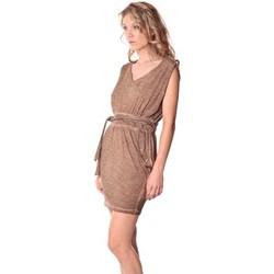 textil Mujer Vestidos cortos Rich & Royal Rich&Royal Robe LAST Camel  13q664/238 Marrón