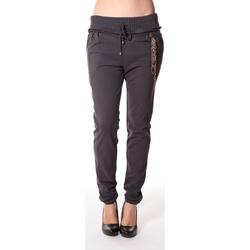 textil Mujer Pantalones Rich & Royal Rich&Royal Pantalon City sweet ANTHRACITE 13q915/876 Gris