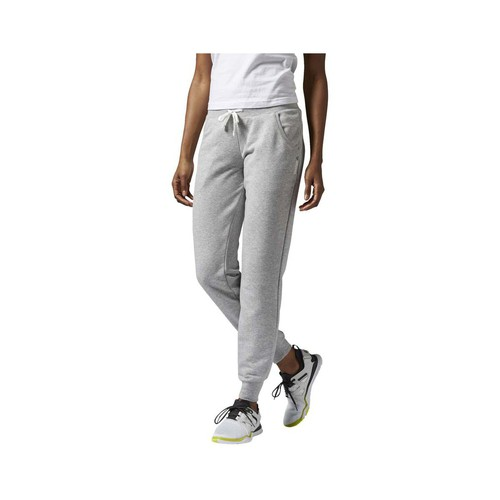 textil Mujer Pantalones de chándal Reebok Sport Elements Cuffed Pant Gris