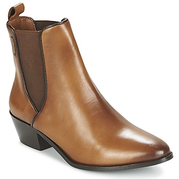 Zapatos Mujer Botines Pepe jeans DINA Marrón