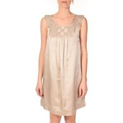 textil Mujer Vestidos cortos Vero Moda Robe Pepper 10049488 Beige Beige