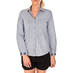 textil Mujer Camisas Tom Tailor Chemise Beatrix Bleue Azul