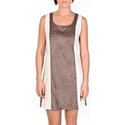 textil Mujer Vestidos cortos Dress Code Robe Venetie blanc/marron Marrón