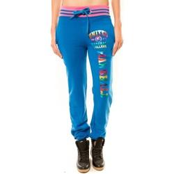 textil Mujer Pantalones de chándal Sweet Company Jogging United Marshall College Bleu/Rose Multicolor