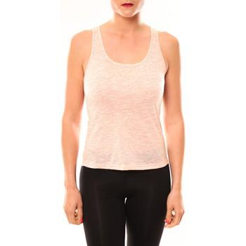 textil Mujer Camisetas sin mangas Meisïe Débardeur 50-502SP15 Corail Naranja