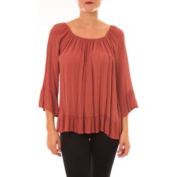 textil Mujer Tops / Blusas By La Vitrine Blouse Giulia brique Naranja