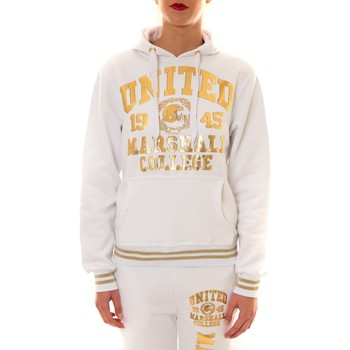 textil Mujer Sudaderas Sweet Company Sweat United Marshall 1945 blanc/or Oro