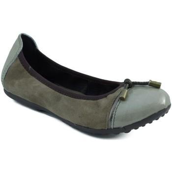 Zapatos Niña Bailarinas-manoletinas Acebo's BAILARINA DE NIÑA VERDE