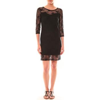 textil Mujer Vestidos cortos La Vitrine De La Mode Robe 158 By La Vitrine Noire Negro