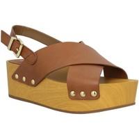 Zapatos Mujer Sandalias Sam Edelman 82011 Marrón