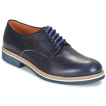 Zapatos Hombre Derbie J Wilton  Azul