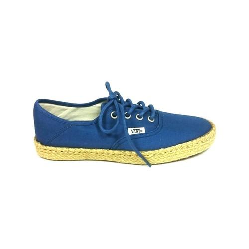Zapatos Mujer Zapatillas bajas Vans Authentic ESP Bleu 4K5EBL Azul