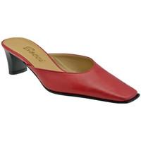 Zapatos Mujer Zuecos (Clogs) Bocci 1926  Rojo